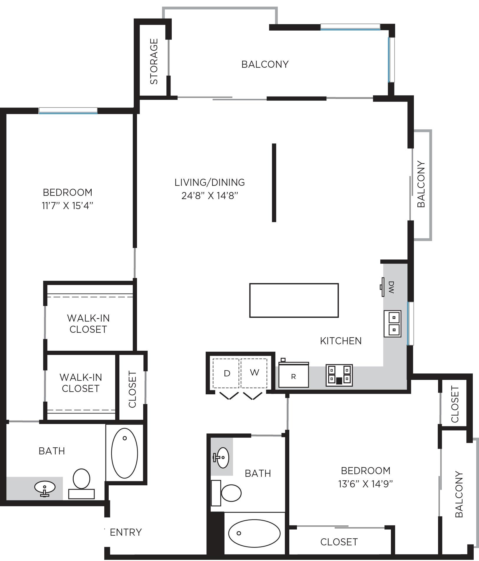 Plan Palazzo