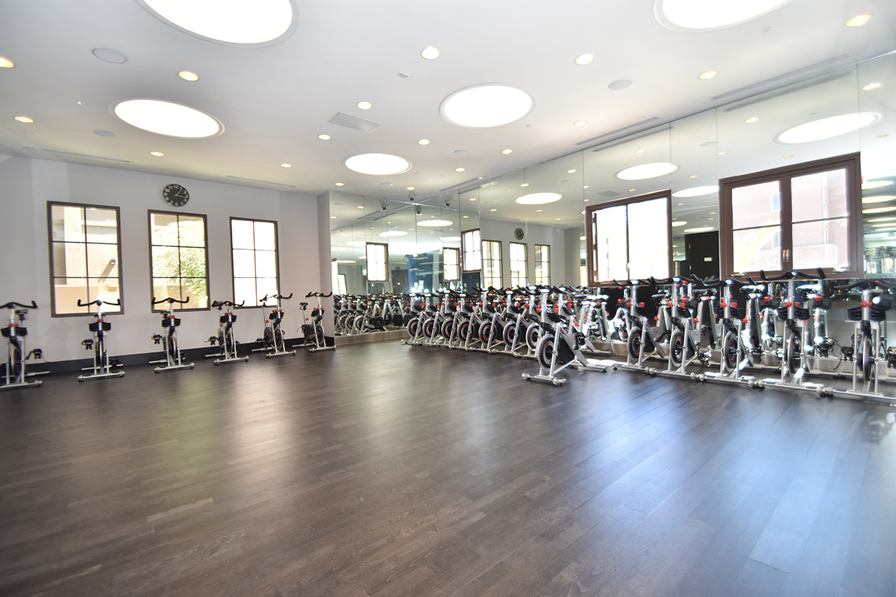 Spin Room High Voltage Fitness Center