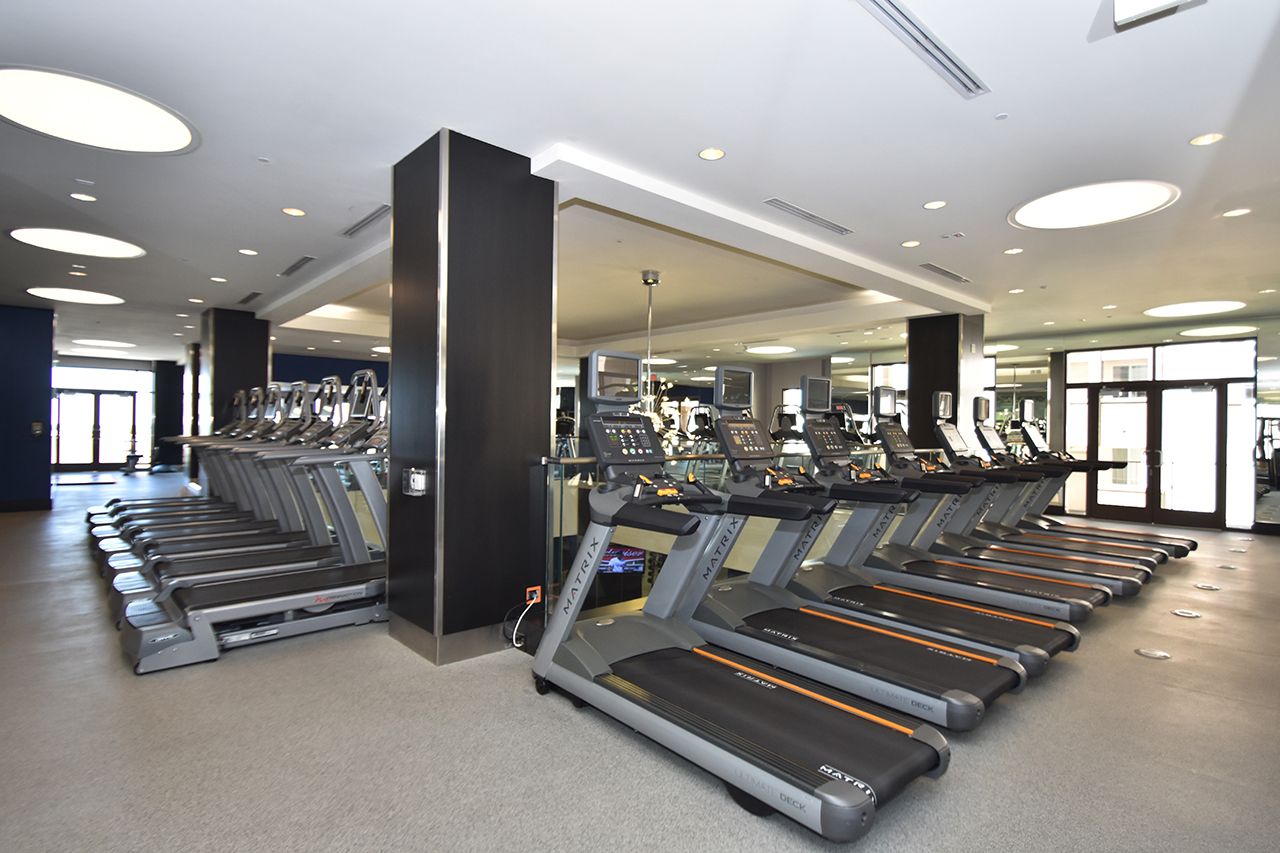 Upper-Level High Voltage Fitness Center